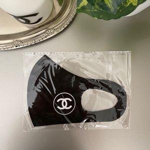 Designer inspired face mask logo